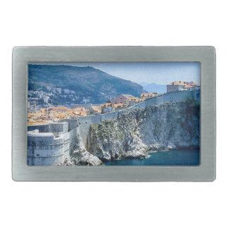Dubrovnik's Old City Rectangular Belt Buckle