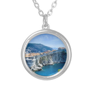 Dubrovnik's Old City Silver Plated Necklace
