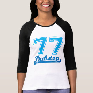 Dubstep 77 Baseball t-shirt