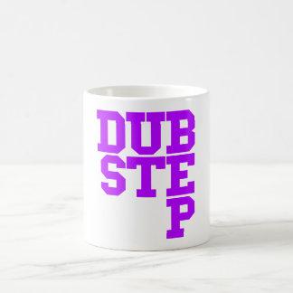 Dubstep Blockletter (Purple) Basic White Mug