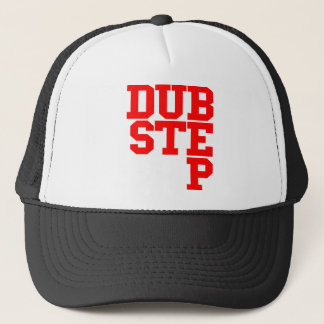 Dubstep Blockletter (Red) Trucker Hat
