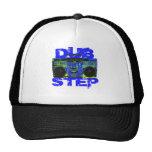 Dubstep Blue Boombox Mesh Hat