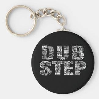 Dubstep Dark Keychain