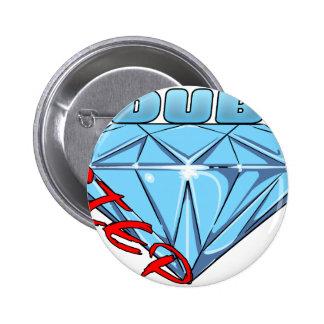 Dubstep Diamond 2 Inch Round Button