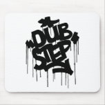 Dubstep FatCap Black Mousepads