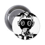 Dubstep Gas Mask Pin