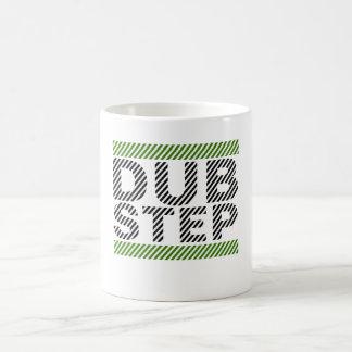Dubstep Green Basic White Mug