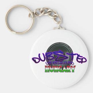 Dubstep Hungary Budapest DUBSTEP Hungarian DUBSTEP Keychain