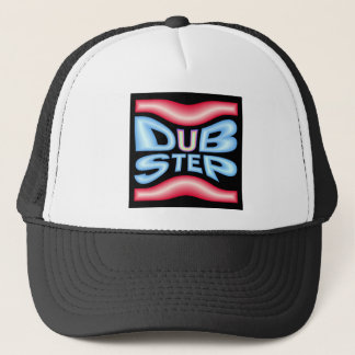 Dubstep Neon Warp Trucker Hat