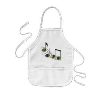Dubstep Notes Apron