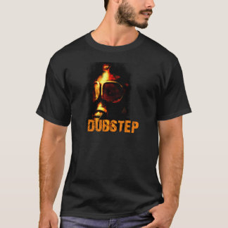 Dubstep Orange Gas Mask T-Shirt
