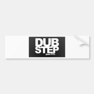 Dubstep Pure Bumper Sticker
