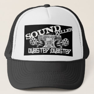 dubstep sound chillier trucker hat