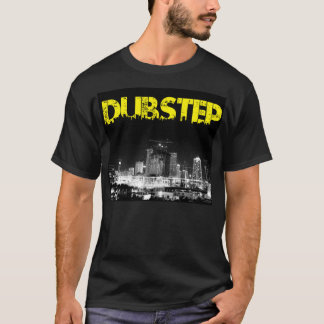 Dubstep T-Shirt Black City