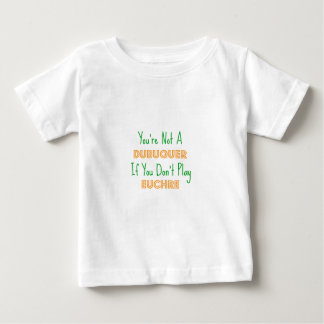 Dubuque, Iowa Euchre Card Game Products Baby T-Shirt