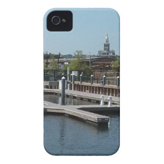 Dubuque, Iowa Ice Harbor, Mississippi River iPhone 4 Covers