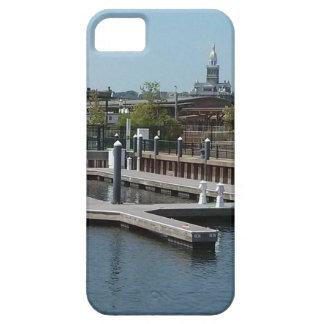 Dubuque, Iowa Ice Harbor, Mississippi River iPhone 5 Covers
