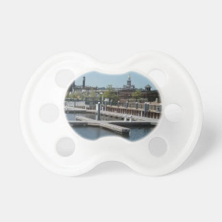 Dubuque, Iowa Ice Harbor, Mississippi River Pacifier