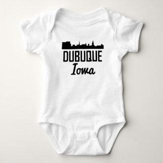 Dubuque Iowa Skyline Baby Bodysuit