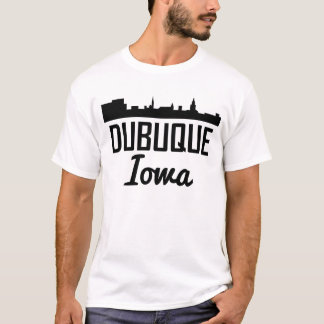Dubuque Iowa Skyline T-Shirt
