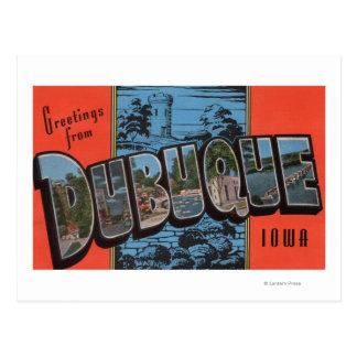 Dubuque, IowaLarge Letter ScenesDubuque, IA Postcard