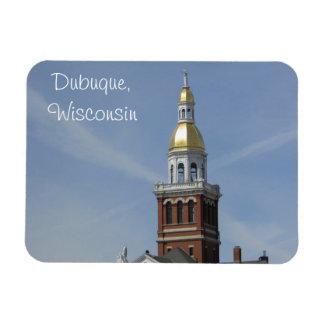Dubuque, Wisconsin Refrigerator or Locker Magnet
