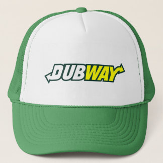Dubway Parody Logo Trucker Hat