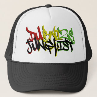 Dubwize Junglist Graffiti Trucker Trucker Hat