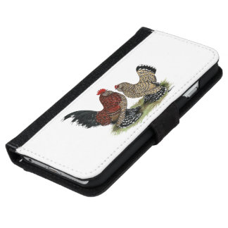D'Uccle Bantams:  Mille Fleur iPhone 6 Wallet Case