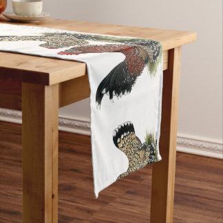 D'Uccle Bantams:  Mille Fleur Medium Table Runner