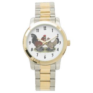 D'Uccle Bantams:  Mille Fleur Watch
