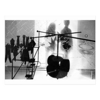 Duchamp Hommage Postcard