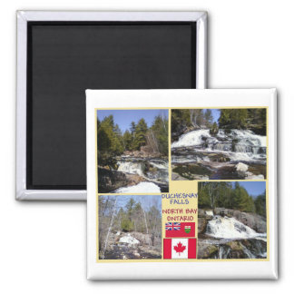 Duchesnay Falls North Bay, Ontario Magnet
