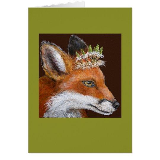 Duchess the fox card