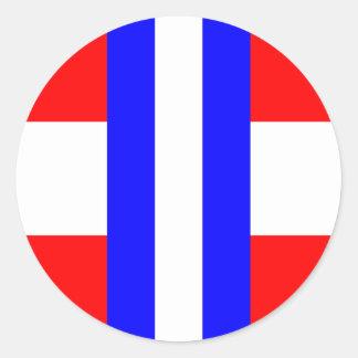 Duchy Of Modena, Italy Classic Round Sticker