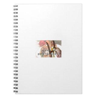 Duck and butcher spiral notebook