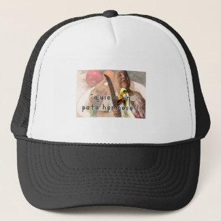 Duck and butcher trucker hat