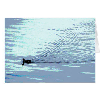 Duck and Ripples Thank You Card
