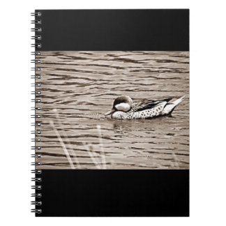 ***DUCK AT THE LAKE*** SPIRAL NOTEBBOOK NOTEBOOKS