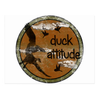 DUCK ATTITUDE for the Hunter Postcard