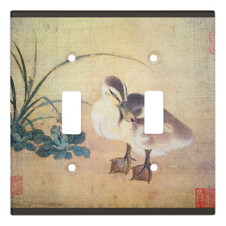 Duck Baby Duckling Bird Asian Light Switch Cover