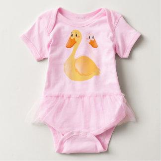 Duck Baby Tutu Bodysuit