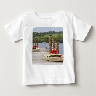 Duck Bay pier, Loch Lomond, Scotland Baby T-Shirt