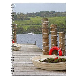 Duck Bay pier, Loch Lomond, Scotland Notebook