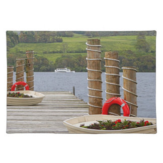 Duck Bay pier, Loch Lomond, Scotland Placemat