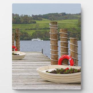 Duck Bay pier, Loch Lomond, Scotland Plaque