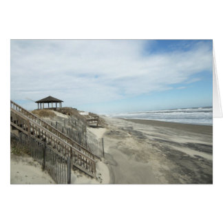 Duck Beach Outer Banks, N.C. Greeting Card