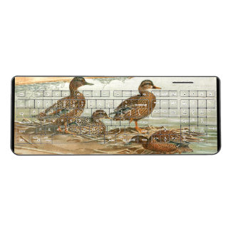 Duck Birds Wildlife Animals Pond Wireless Keyboard