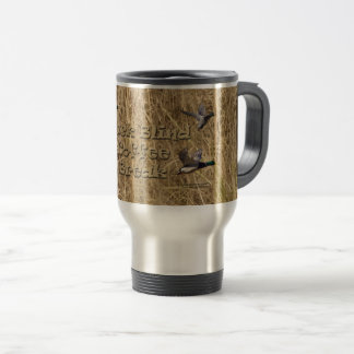 Duck Blind Coffee Break Travel Mug