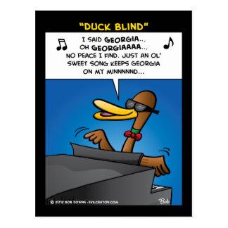"""Duck Blind"" Postcard"